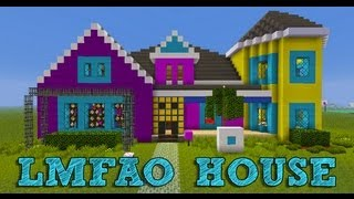 Minecraft: LMFAO Sorry for Party Rocking HOUSE
