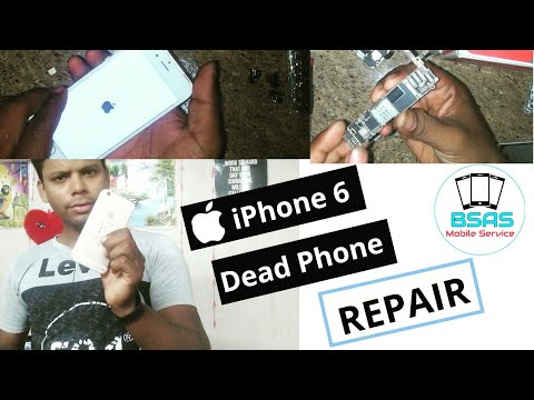 iPhone 6 Dead Phone #Repair Step By Step ( Ajay Dhawan )