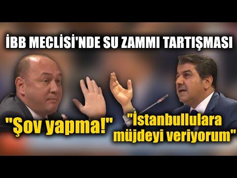 İBB MECLİSİ'NDE SU ZAMMI TARTIŞMASI!