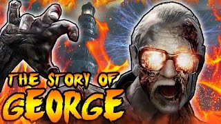 The Story of GEORGE ROMERO! KIDNAPPED BY A NAZI ZOMBIE! Call of Duty Zombies Black Ops Storyline
