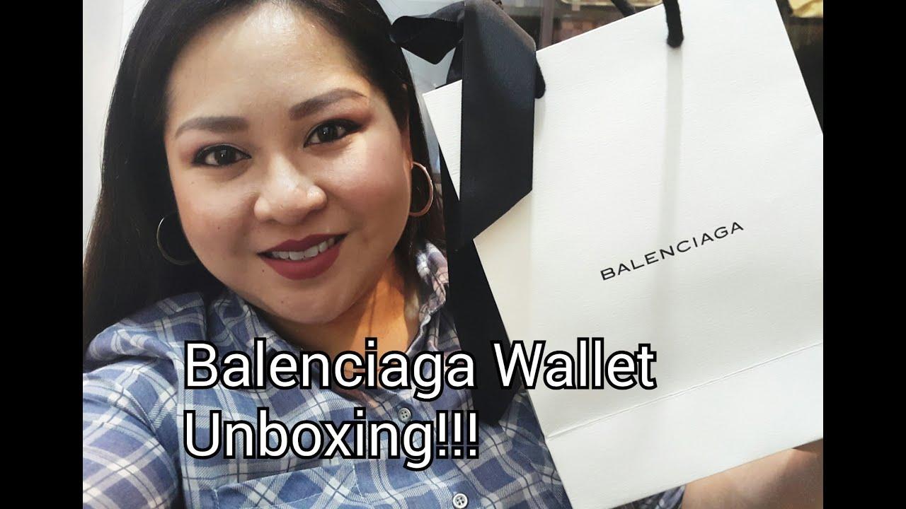 288048c971 Balenciaga Compact Wallet Unboxing! - YouTube