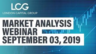 Market Analysis webinar (Sept, 03, 2019)