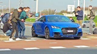 2018 Audi TT-RS Exhaust SOUNDS! REVS, Launch Control & More!