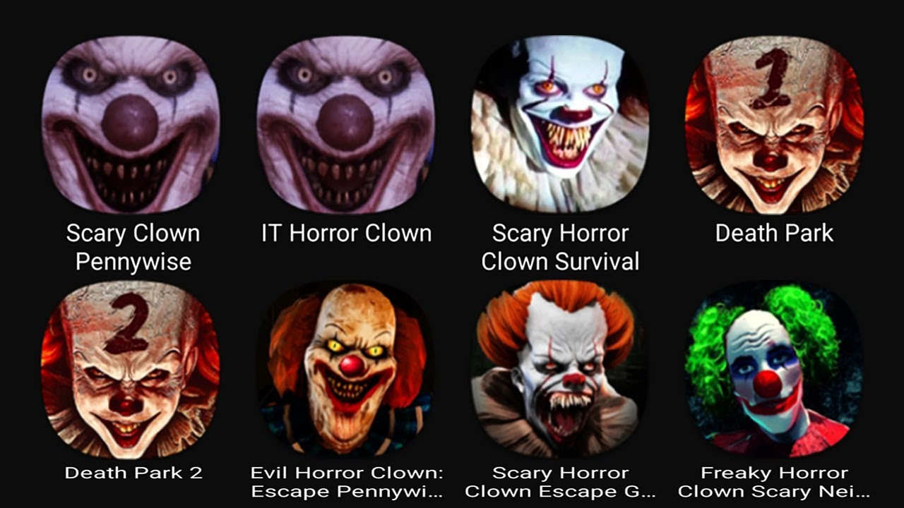 Download Scary Clown Pennywise, IT Horror Clown, Scary Horror Clown Survival, Death Park, Death Park 2....