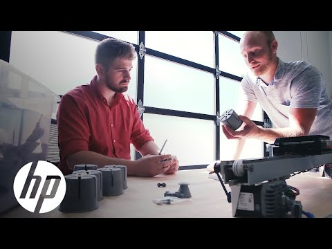 SigmaDesign Produces Machine Parts | Jet Fusion 3D Printing | HP