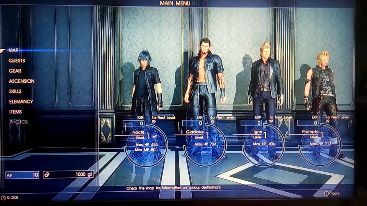 PS4 CHEATER 1 4 5 TUTORIAL PS CHEATER / CARA CHEAT GAME PS4 [ FINAL FANTASY  XV ]