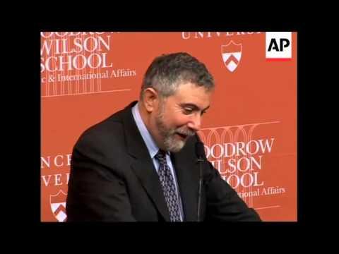 Trade patterns expert Krugman wins Nobel economics prize