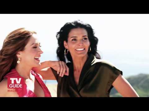 Rizzoli & Isles secrets! Angie Harmon and Sasha Alexander