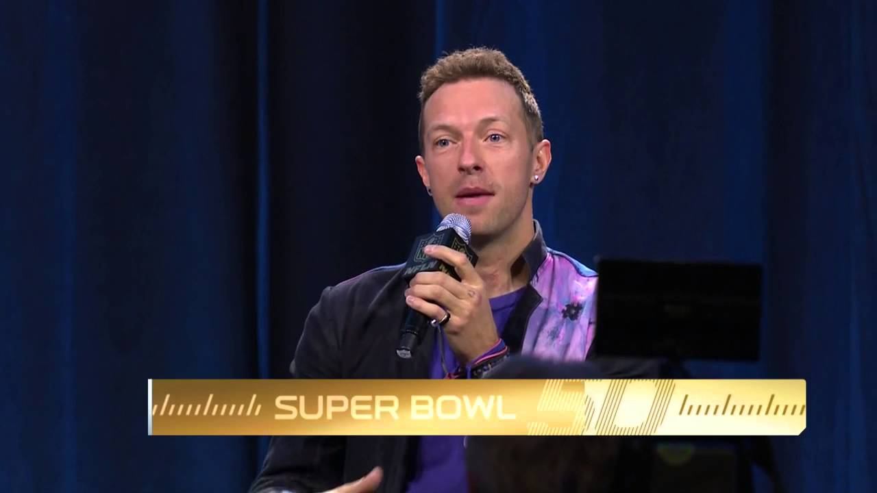 Coldplay on Asking Beyonce To Perform at Super Bowl 50, 'Hey Queen B' | NFL