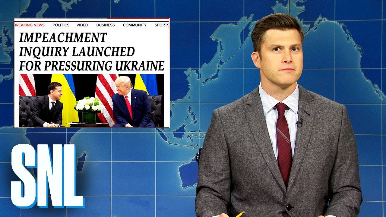Weekend Update: Democrats Launch Impeachment Inquiry Against Trump - SNL
