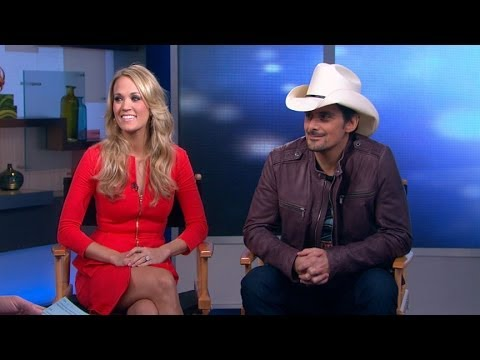 Country Crooners Brad Paisley, Carrie Underwood Take CMA's By Storm