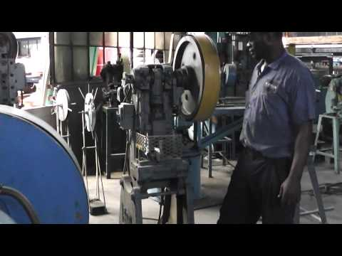 ROBINSON OBI 10 TON PUNCH PRESS - YouTube