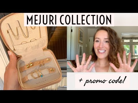 My Mejuri Jewelry! +Promo Code