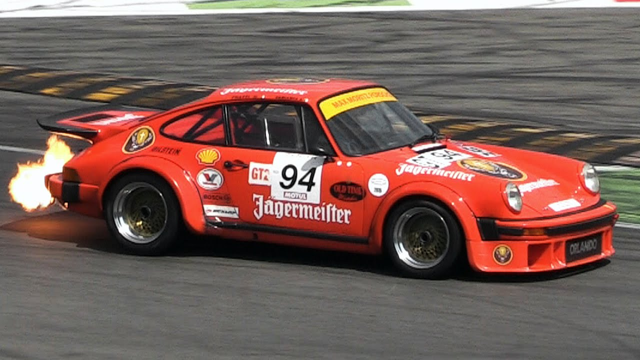 480hp Porsche 934 Turbo Rsr Group 4 Spitting Flames