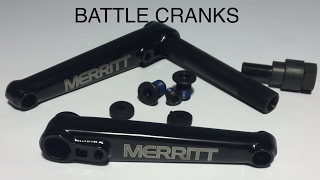 MERRITTBMX: HOW TO INSTALL YOUR BATTLE CRANKS Video