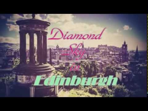 Novel Trailer: Diamond Sky in Edinburgh by @zachira