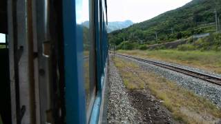 [HD] Ride the Taiwan TRA Ordinary train no. 354 haul by GM EMD R121 Part 3