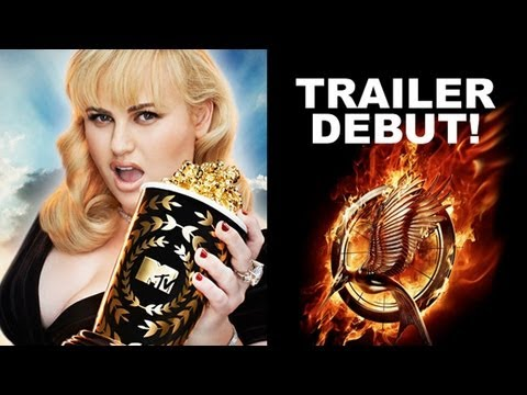 MTV Movie Awards 2013 - The Hunger Games 2 Catching Fire Trailer Debuts!