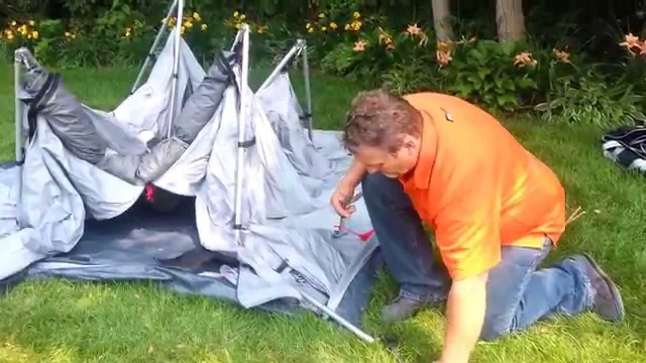 Taking Down the Jet Tent F25 & Taking Down the Jet Tent F25 - YouTube