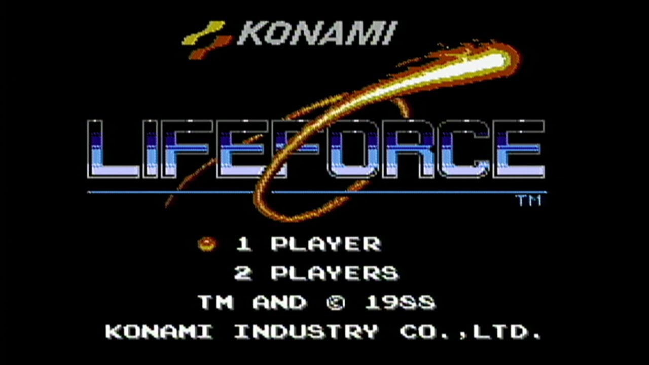 life force A spinoff of konami's hit 1985 shooter gradius, life force introduced such features as simultaneous 2 player play and stages that alternated between horizontal and.