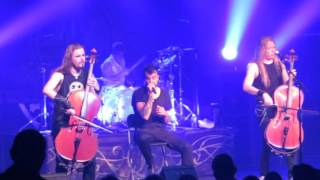 Apocalyptica - I don't care Dead Man's eyes - Sacramento 2016