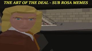 Trump Shows The Art of The Deal - Sub Rosa Memes