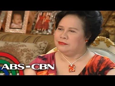 Korina Sanchez talks to Sen. Miriam Defensor Santiago