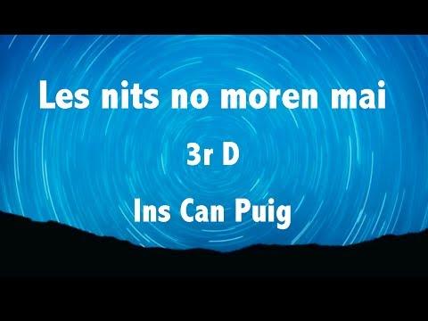 Ins Can Puig: 3r D. Les nits no moren mai