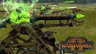 Zapping Barrage - Skaven vs Lizardmen // Total War: Warhammer II Online Battle #319