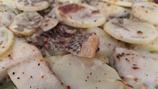 #УЖИНРыбный пирог без муки Полезный вкусный очень быстро готовить Много белка и мало углеводов