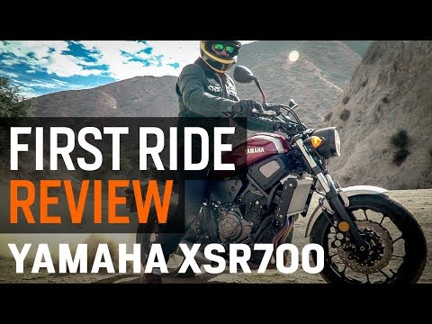 Yamaha XSR700 First Ride Review at RevZilla.com