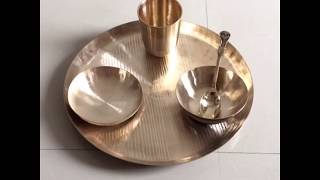 Handmade Kansa / Bronze Utensils & Dinnerware