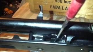 AK-47 cıvata gerekli tüfek için modifiye tutun açın