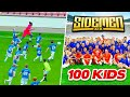 SIDEMEN VS 100 KIDS FOOTBALL MATCH mp3