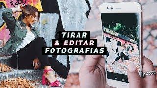 COMO TIRAR E EDITAR FOTOS NO TELEMÓVEL! + GANHA UM HUAWEI P10 LITE   Inês Rochinha