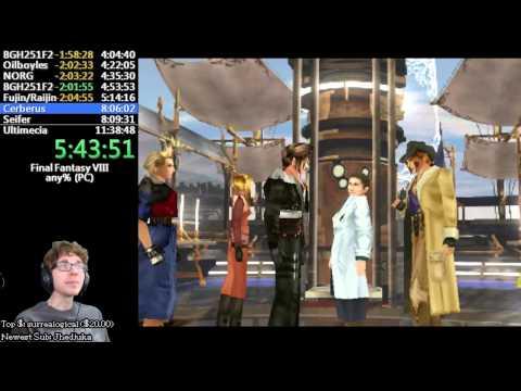 Final Fantasy VIII (PC) Speedrun - any% - 9:04:24