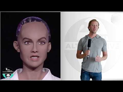 The Dangers of Artificial Intelligence - Robot Sophia makes fun of Elon Musk - A.I. 2017