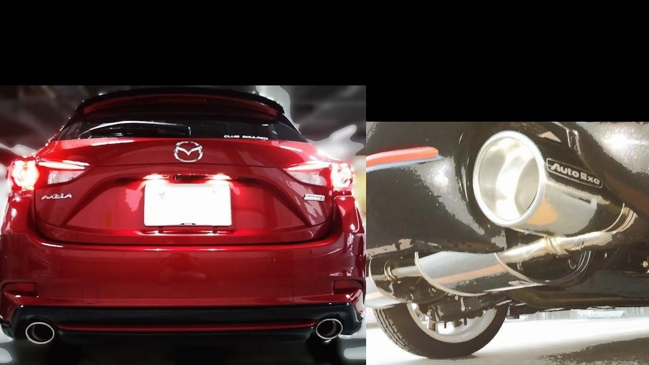 3a80c6b806fd3 AutoExe Premium Tail Muffler のパーツレビュー | アクセラスポーツ(ハッチバック)(hiro1106) | みんカラ