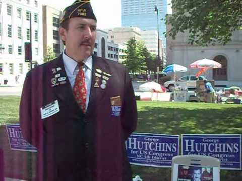 Raleigh Congressional Candidate George Hutchins In...