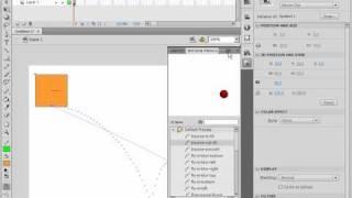 Встроенные стили движения в Adobe Flash CS4 (36/46)