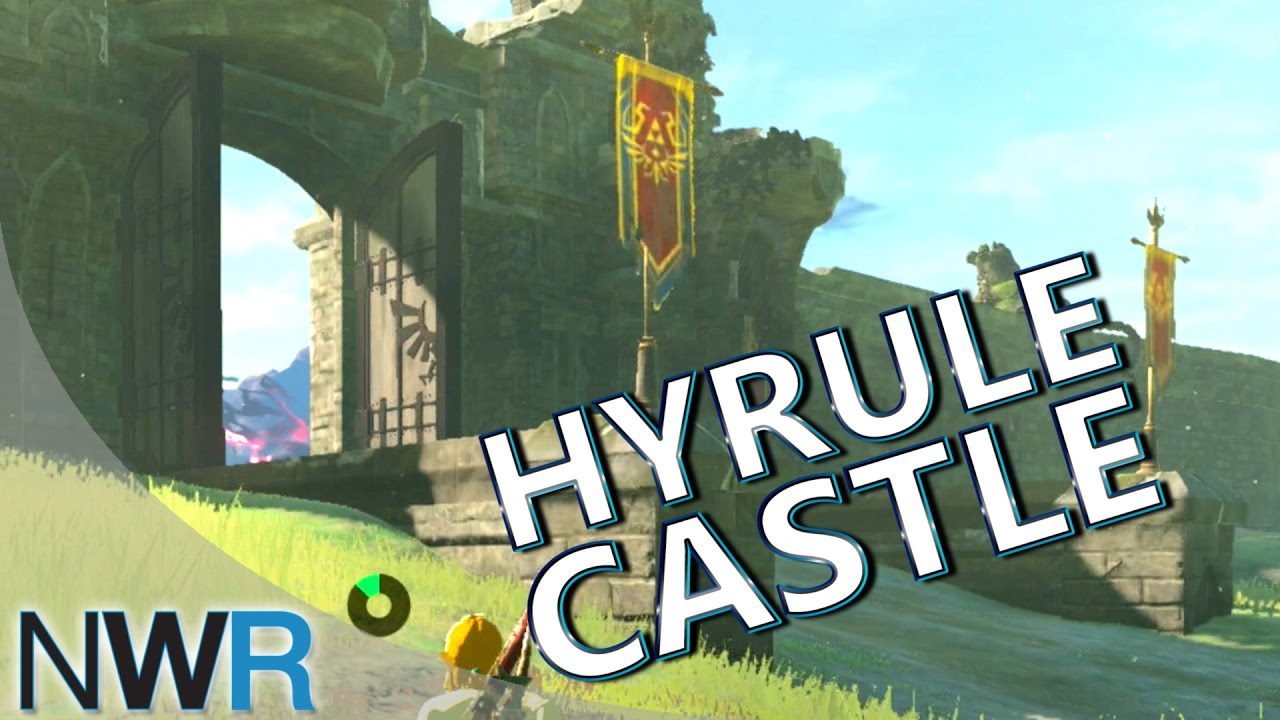 Zelda Breath Of The Wild Running To Hyrule Castle New Switch Gameplay Youtube