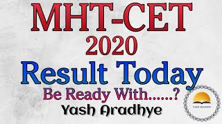 MHTCET RESULTS 2020 | Mhtcet Results Today
