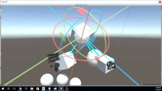 Unity3D Editor VR Extension Tool - Hierarchy Mode