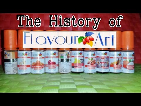 History of FlavourArt [FA] – The Story of the Italian Flavorings Manufacturer since 2006