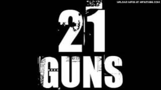 Green day 21 guns backing track. -