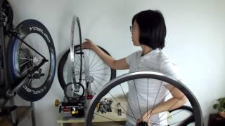 Carbon Road Bike Wheels - 38mm Super Light Carbon alloy Clincher Wheels UD matt
