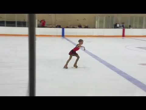 6/2017- SamiGrace Preliminary FreeSkate At Broadmoor Open