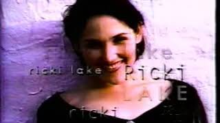 Ricki Lake Promo - Great Fun, Great Talk! (Season 3 - Version 1)