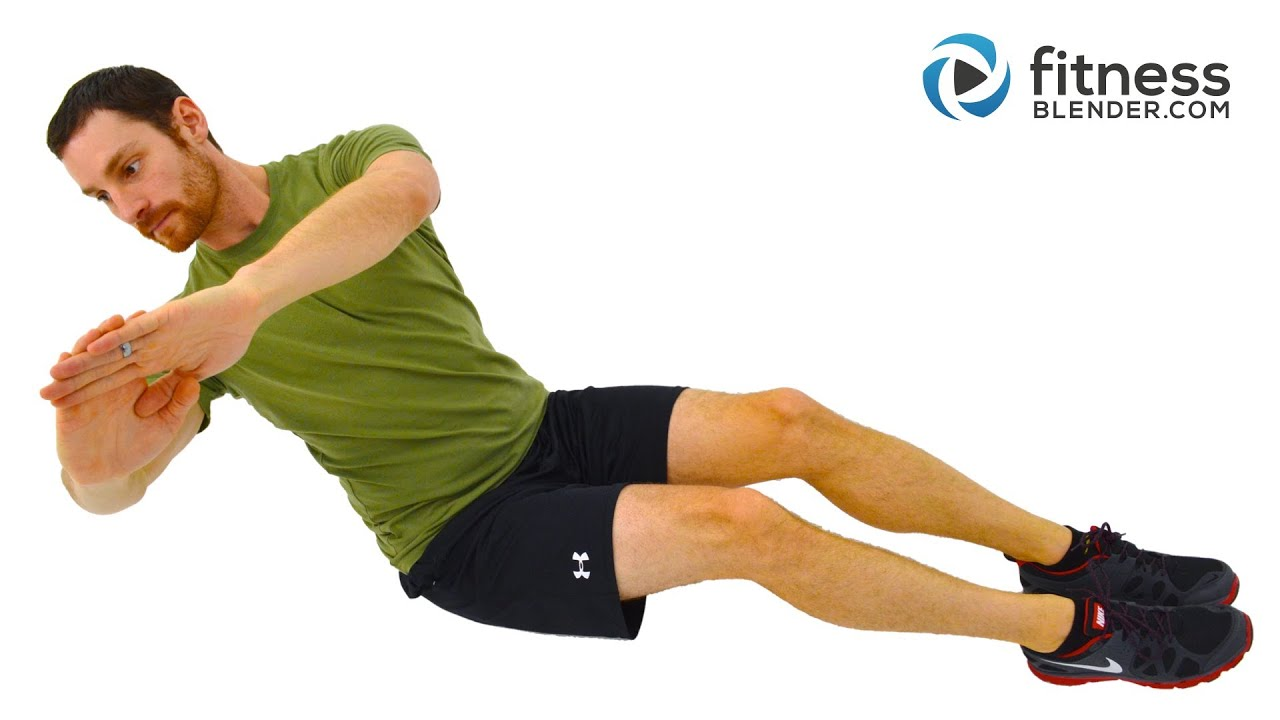 Total Body Strength Training And Core Workout For Beginners