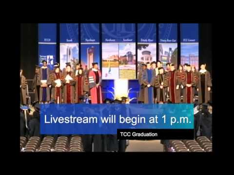 Tarrant County College Commencement - May 16, 2016 - Afternoon